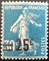 N° 217  NEUF ** SANS CHARNIÈRE ( LOT:84 ) - 1906-38 Säerin, Untergrund Glatt