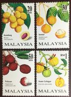 Malaysia 1998 Rare Fruits MNH - Fruits