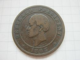 Haiti 20 Centimes 1863 - Haiti