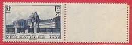 France N°379 Château De Versaille 1F75 + 75c Bleu 1938 ** - Nuevos