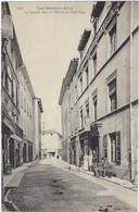 38  Saint Marcellin  - La Grande Rue Et L'hoteldu Petitparis - Saint-Marcellin