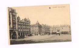 Place Des Martyrs.Tramway,charrette. - Leuven