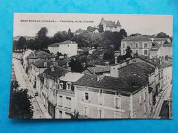 16 : MONTMOREAU : PANORAMA VU Du CLOCHER  , CPA ,carte En Bon état - Otros Municipios