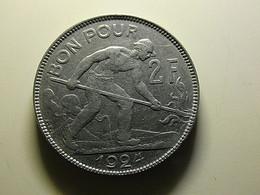 Luxembourg 2 Francs 1924 - Lussemburgo