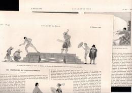 THEATRE - Article Papier - Coupure De Presse - Année 1921 - Les Spectacles Du Vieux-Colombier - Sin Clasificación