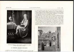 ALGERIE - Article Papier - Coupure De Presse - Année 1921 - Le Premier Peintre Muslman Azouazou Mammeri - Unclassified