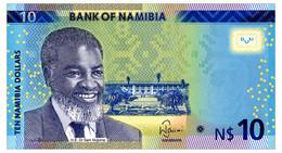 NAMIBIA 10 DOLLARS 2015 Pick 16 Unc - Namibia