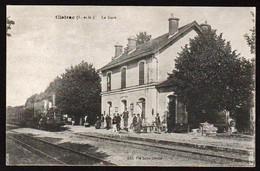 CLAIRAC: Arrivée Du Train En Gare, Belle Animation. Carte écrite En 1916. TTB - Otros Municipios