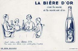 Buvards La Bière D'Or - Liquore & Birra
