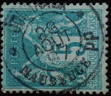 -Sage N°75 Type II  Ob  ( CAD ) .JOURNAUX MAUBEUGE 1897. - 1876-1898 Sage (Tipo II)