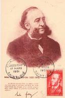 FRANCE C.M N° 880.J.Ferry. P.J. E.1. 17.03.1951.Saint Die - 1950-59