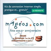 MAGEOS.com: Fete Son 1er Anniversaire, Jouez Et Devenez L'un Des Millionnaires En Beenz, La Redoute (21-13) - Kit Di Connessione A  Internet