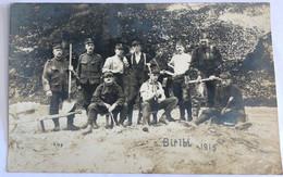 CARTE PHOTO MILITAIRE BIRIBI 1915 - Guerra 1914-18