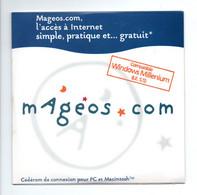MAGEOS.com: L'Accés à Internet Simple, Pratique Et Gratuit, Compatible Windows Millenium (21-14) - Kit Di Connessione A  Internet