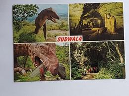 Südafrika, Sudwala, Krüger Park, Dinosaurier (gelaufen ,1976; E4) - Sud Africa