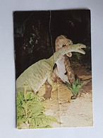 Südafrika, Sudwala, Krüger Park, Dinosaurier (gelaufen ,1975; E4) - Sud Africa