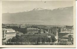010772  Sofia - Gesamtansicht Mit Witoscha-Gebirge  1940 - Bulgaria