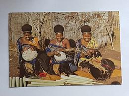 Swasiland, Frauen Flechten Sisal (gelaufen Südafrika, 1976; E4) - Swaziland