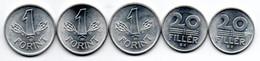 Hongrie -   Lot De 5 Monnaies SUP - Ungarn