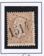 GC 1514 FLAVIGNY SUR MOSELLE ( Dept 52 Meurthe ) S / N° 21 - 1849-1876: Classic Period