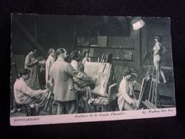 TIRAGE ORIGINAL .Montparnasse. Académie De La La Grande Chaumière. Atelier De Peinture Modèle Nu. Voir 2 Scans .Arts. - Unclassified
