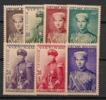 Vietnam (Empire) - 1954 - N°Yv. 22 à 28 - Série Complète - Neuf Luxe ** / MNH / Postfrisch - Vietnam