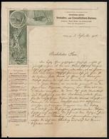 FT0039 Austria 1901 - Wien -  Verkehrs Und Consultations-Bureau - Documento - Austria