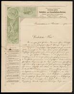 FT0041 Austria 1901 - Wien -  Verkehrs Und Consultations-Bureau - Documento - Austria