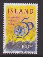 ISLANDIA - Sello Matasellado 1995 - Gebraucht