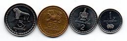 Géorgie Lot De 4 Monnaies - Georgia