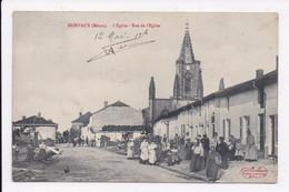 CP 55 MURVAUX L'église Rue De L'église - Other Municipalities