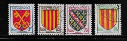 FRANCE  ( FRO5 - 25 )  1955  N° YVERT ET TELLIER  N° 1044/1047 - Used Stamps
