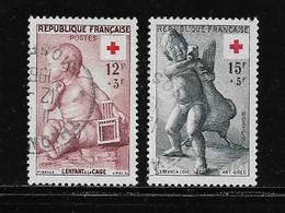 FRANCE  ( FRO5 - 26 )  1955  N° YVERT ET TELLIER  N° 1048/1049 - Used Stamps