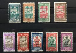 ININI 1932 - NEUF**/MNH - Série Complète TAXE 1 / 9 - CV 15 EUR - RARE - Lot 2 - Nuovi