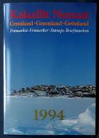 GREENLAND 1994 Year Pack  Complete Map, (**)  ( Lot Kas) - Komplette Jahrgänge