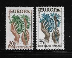 FRANCE  ( FRO5 - 63 )  1957  N° YVERT ET TELLIER  N° 1122/1123 - Used Stamps