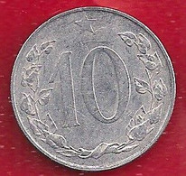TCHÉCOSLOVAQUIE 10 HALERU - 1954 - Czechoslovakia