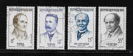 FRANCE  ( FRO5 - 69 )  1958  N° YVERT ET TELLIER  N° 1142/1145 - Used Stamps