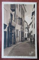 Colmars Les Alpes - La Grand'Rue - Recette Buraliste - Bar - Tabac - Bureau De Postes Et Télégraphes - Andere Gemeenten