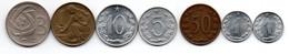 Tchécolslovaquie Lot De 7 Monnaies - Czechoslovakia