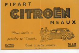 Buvards Automobile Pipart Citroen - Macchina