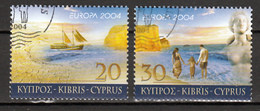 Cyprus  Europa Cept 2004 Type A  Gestempeld - 2004