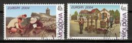 Moldavie  Europa Cept 2004  Gestempeld - 2004