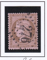 GC 276 BACCARAT ( Dept 52 Meurthe Et Moselle ) S / N° 58 - 1849-1876: Klassik