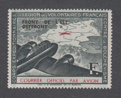 Timbre Neuf ** Sans Charnière - Légion Des Volontaires Français Contre Le Bolchévisme (LVF) - N°4 - Kriegsausgaben