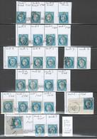 France - Yvert 60 - Cérés 25 Centimes - DEPART 1 EURO - Variétés Suarnet - 26 Piéces - - 1871-1875 Ceres