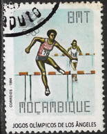 Mocambique – 1984 Olympic Games 8 Meticais Used Stamp - Mozambique