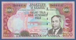 SAMOA - P.37 – 10 TALAND (2006) - UNC Prefix B - Samoa