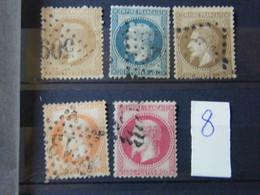 Lot  Timbre Napoeon Du 28 Au 32 - 1852 Louis-Napoleon