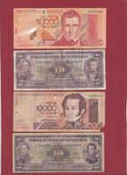 Venezuela 13 Billets Dans L 'état (CERTAINS BILLETS A FORTE COTE---4 LOTS -56 BILLETS AUCUN DOUBLE) Lot N °4 - Venezuela